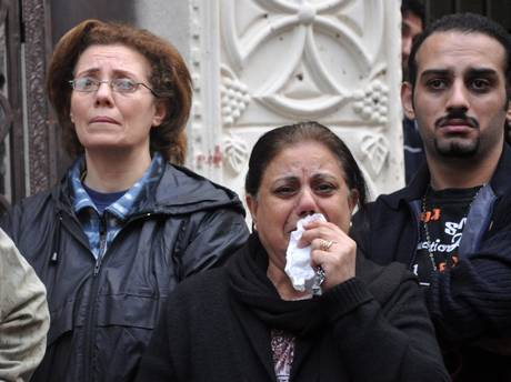 strage cristiani copti ad Alessandria d'Egitto 01-01-2011